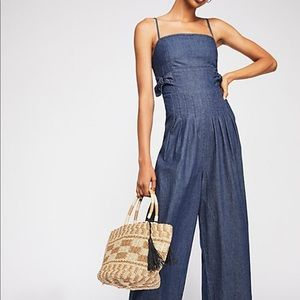 """FREE PEOPLE """"THE BRITTANY JUMPSUIT"""" NWOT"""